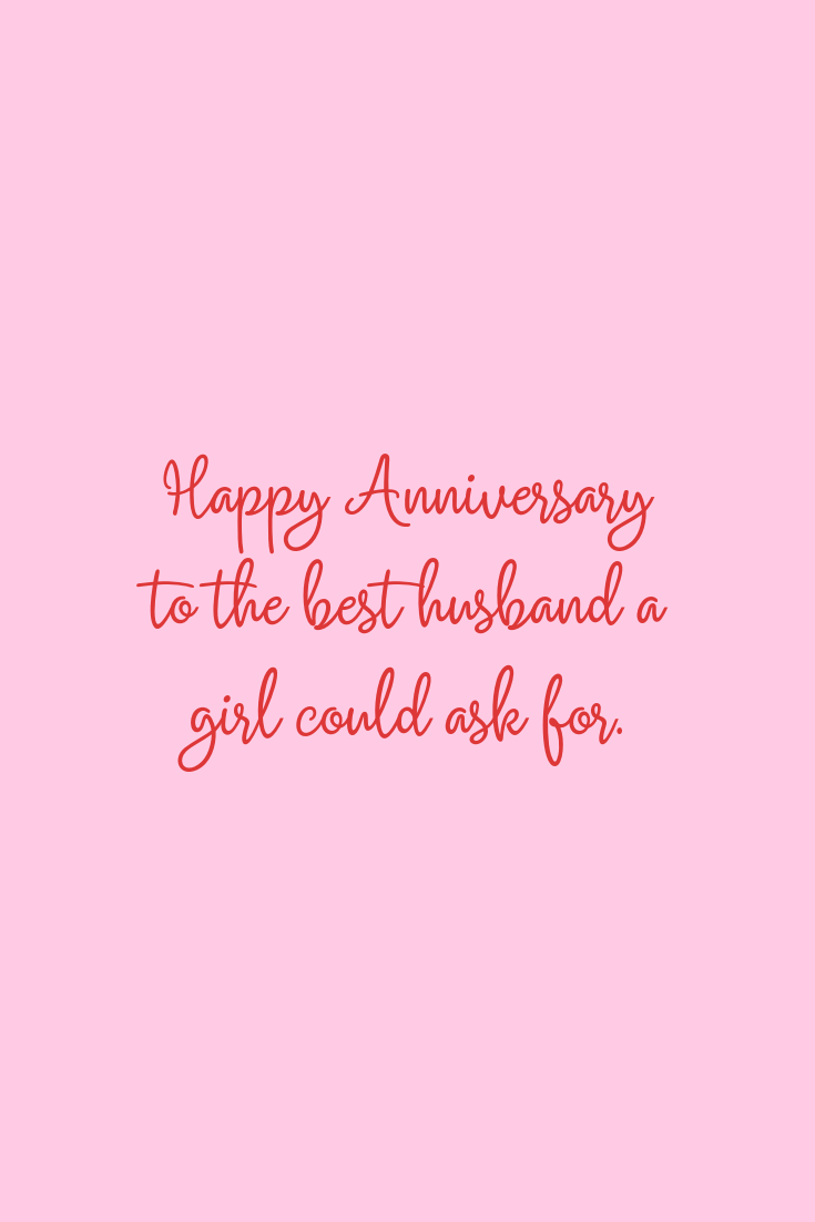 The best anniversary quotes for a husband