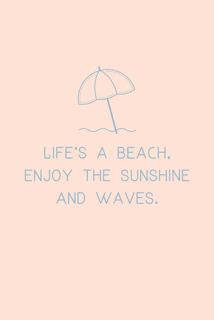 Funny Beach quotes summer
