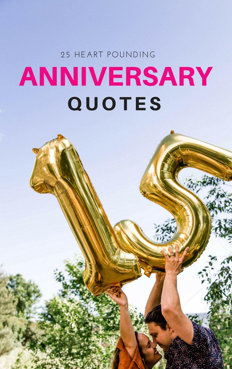 25 Happy Wedding Anniversary Quotes