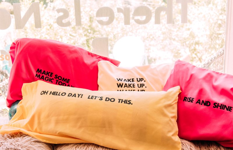 Pillow quotes for her