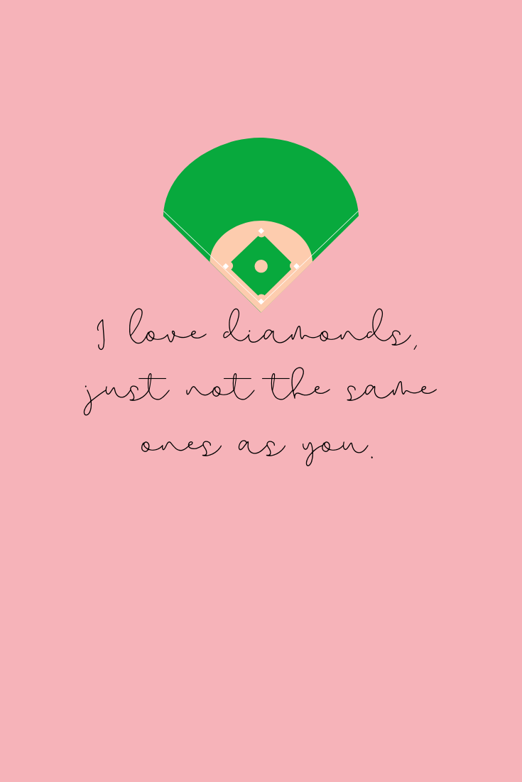 I love softball quotes