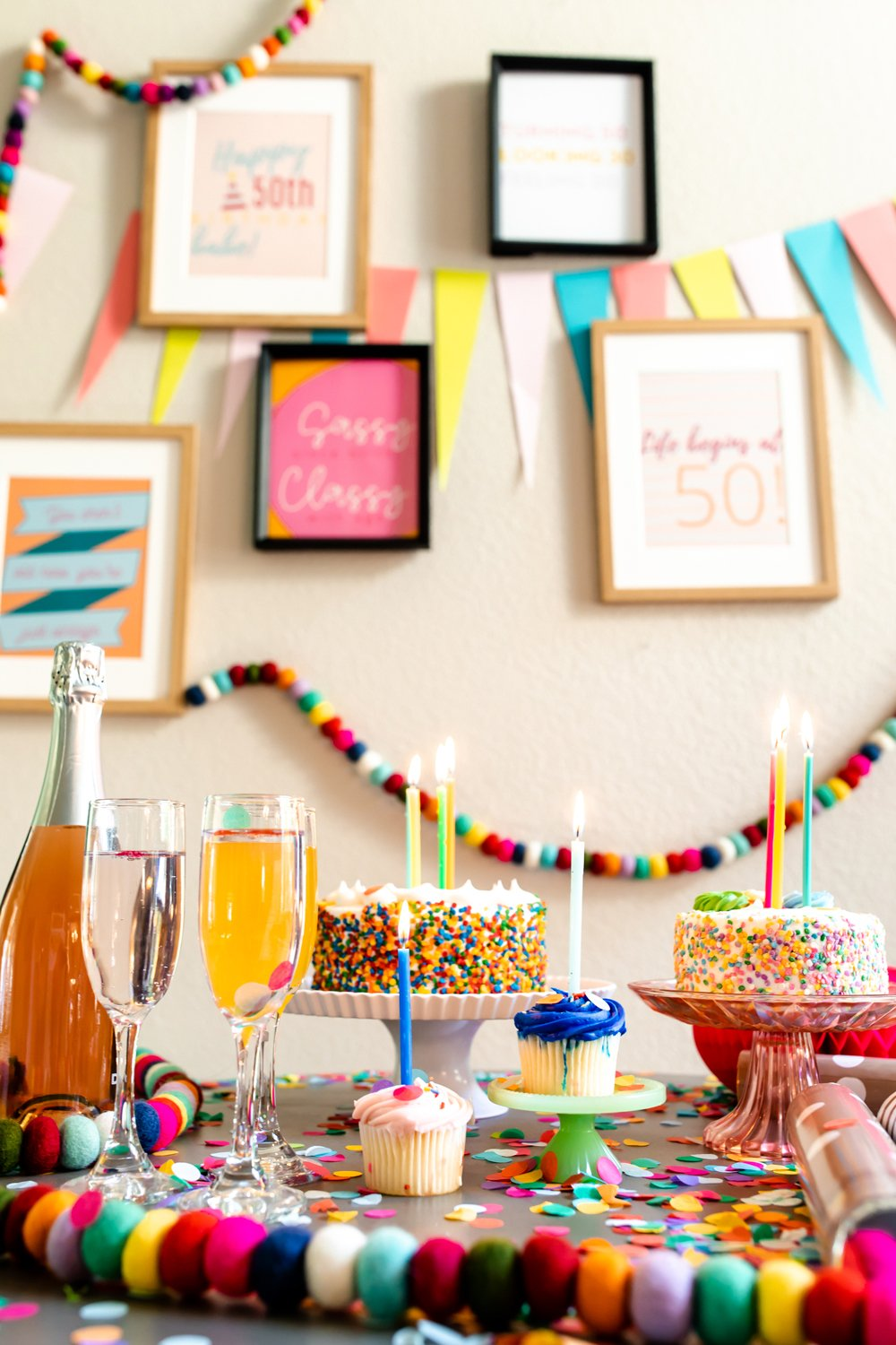 50th party ideas and decorations for turning 50 party