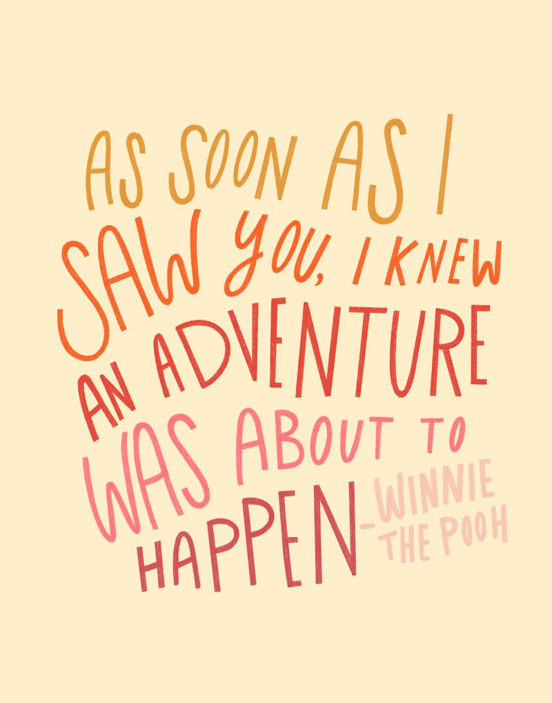 Family Vacation Quotes from Winnie the pooh
