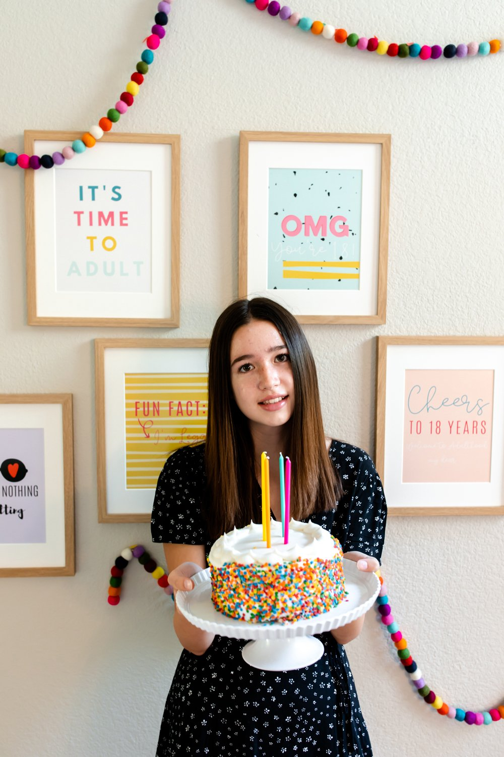18th birthday party poster quotes