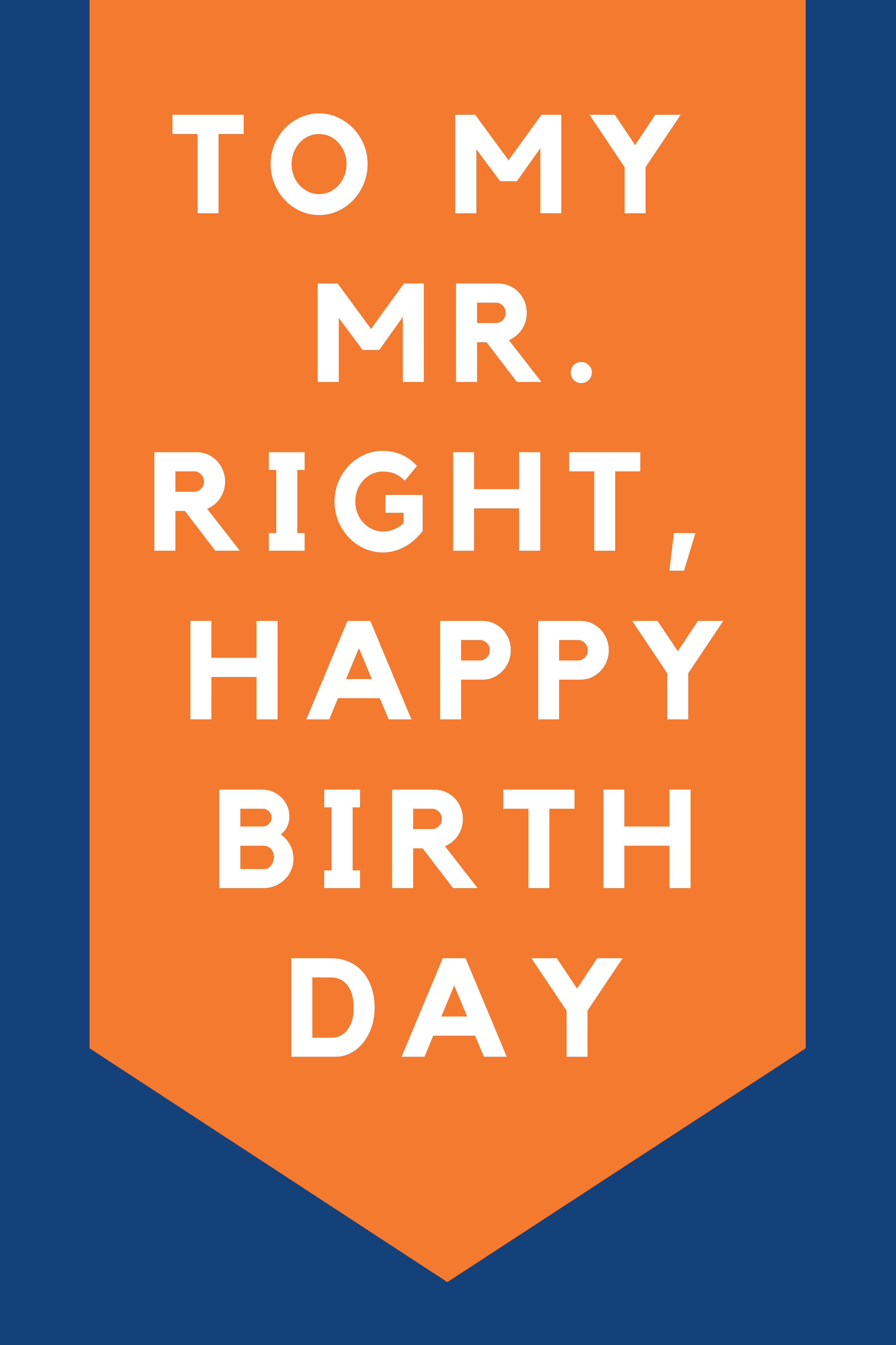 Happy Birthday Quotes to celebrate your man