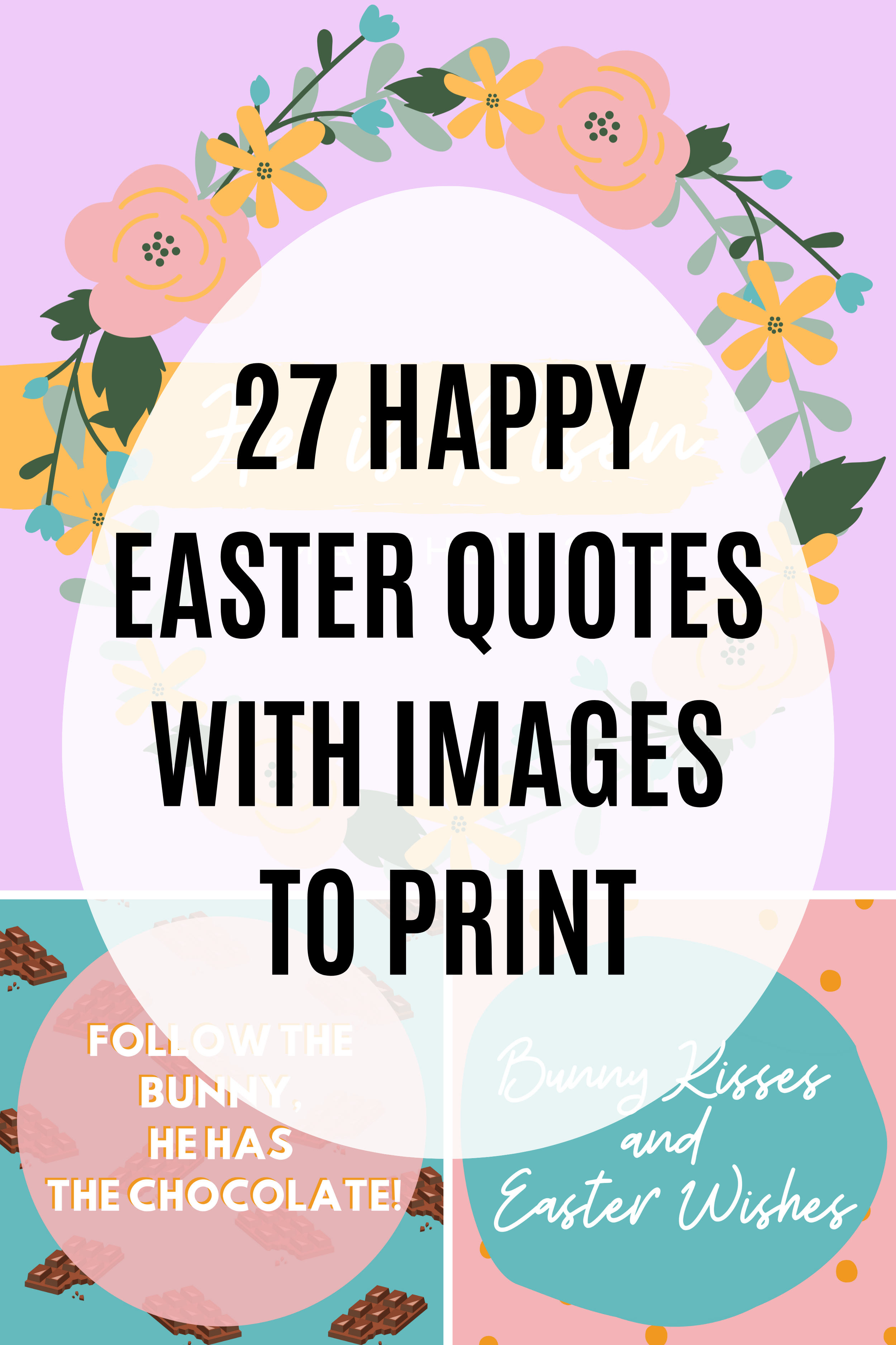 27 Happy Easter Quotes with Images to Print