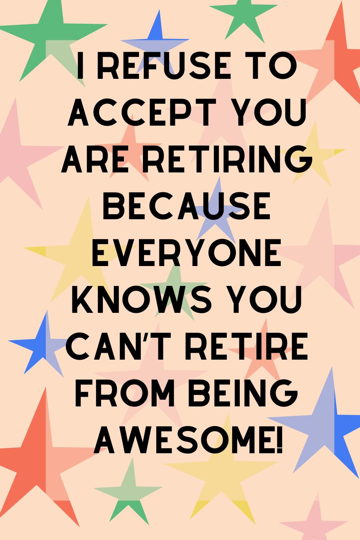 Retiring Teacher Funny Quotes