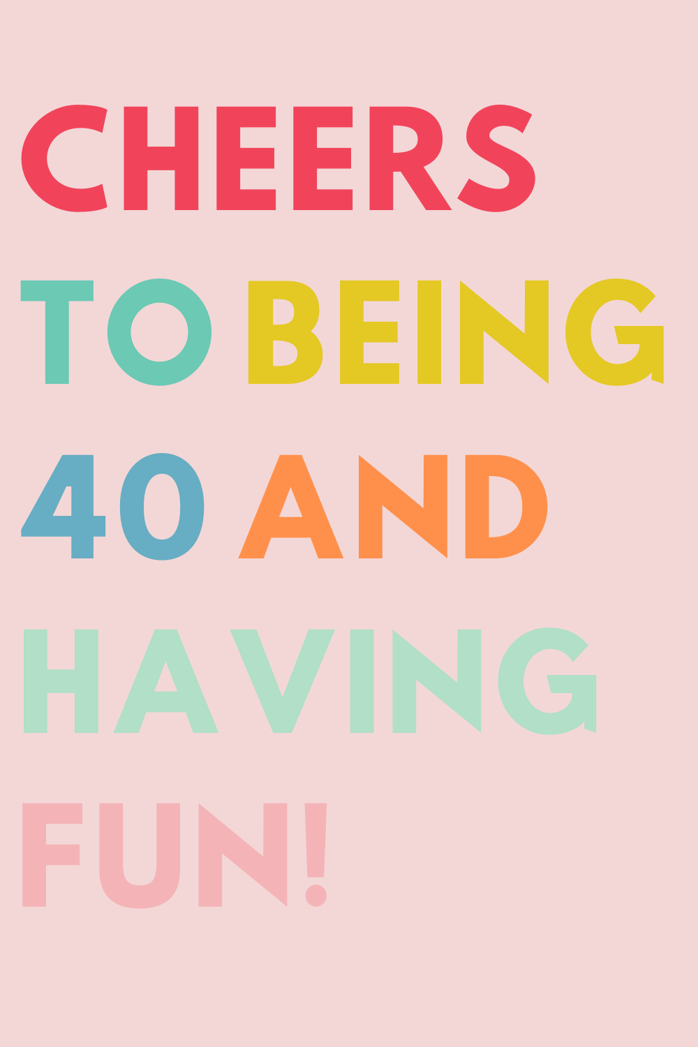 40th Birthday quotes prints download 40th birthday signs