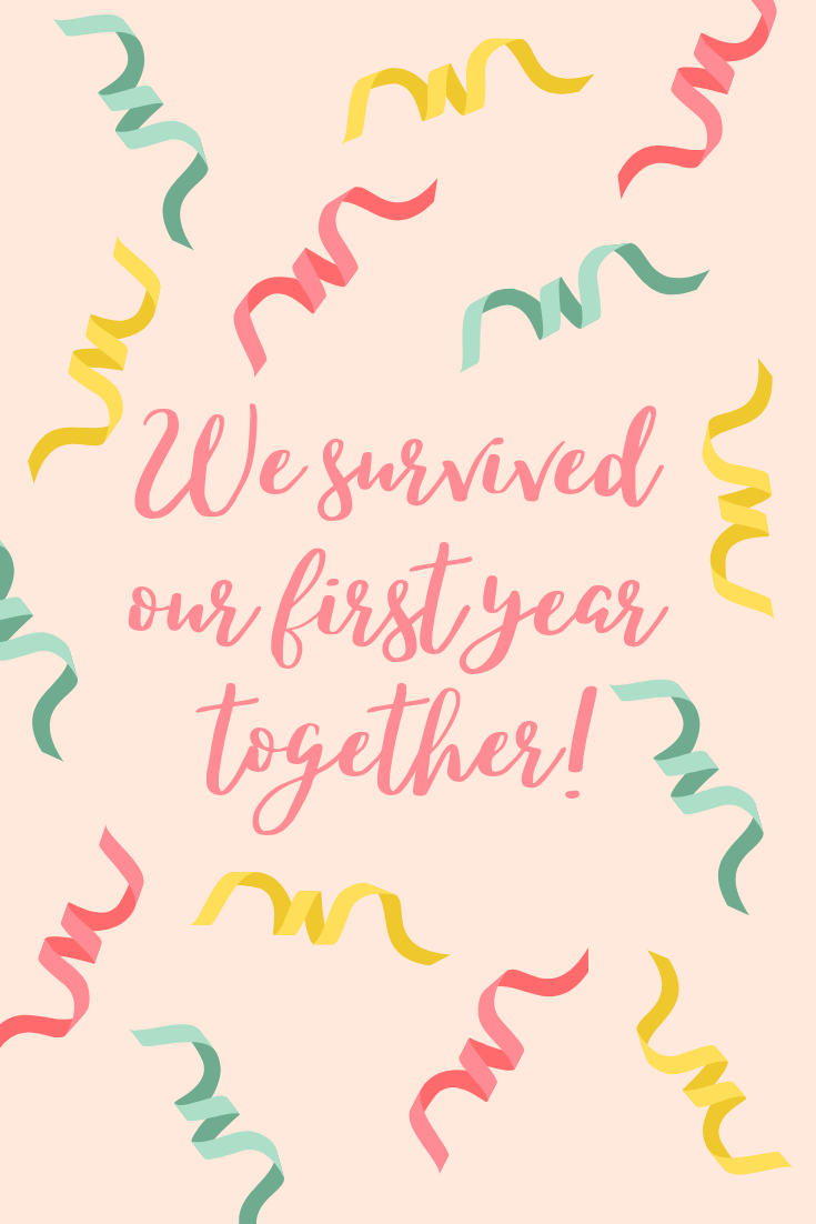 First Anniversary Quotes