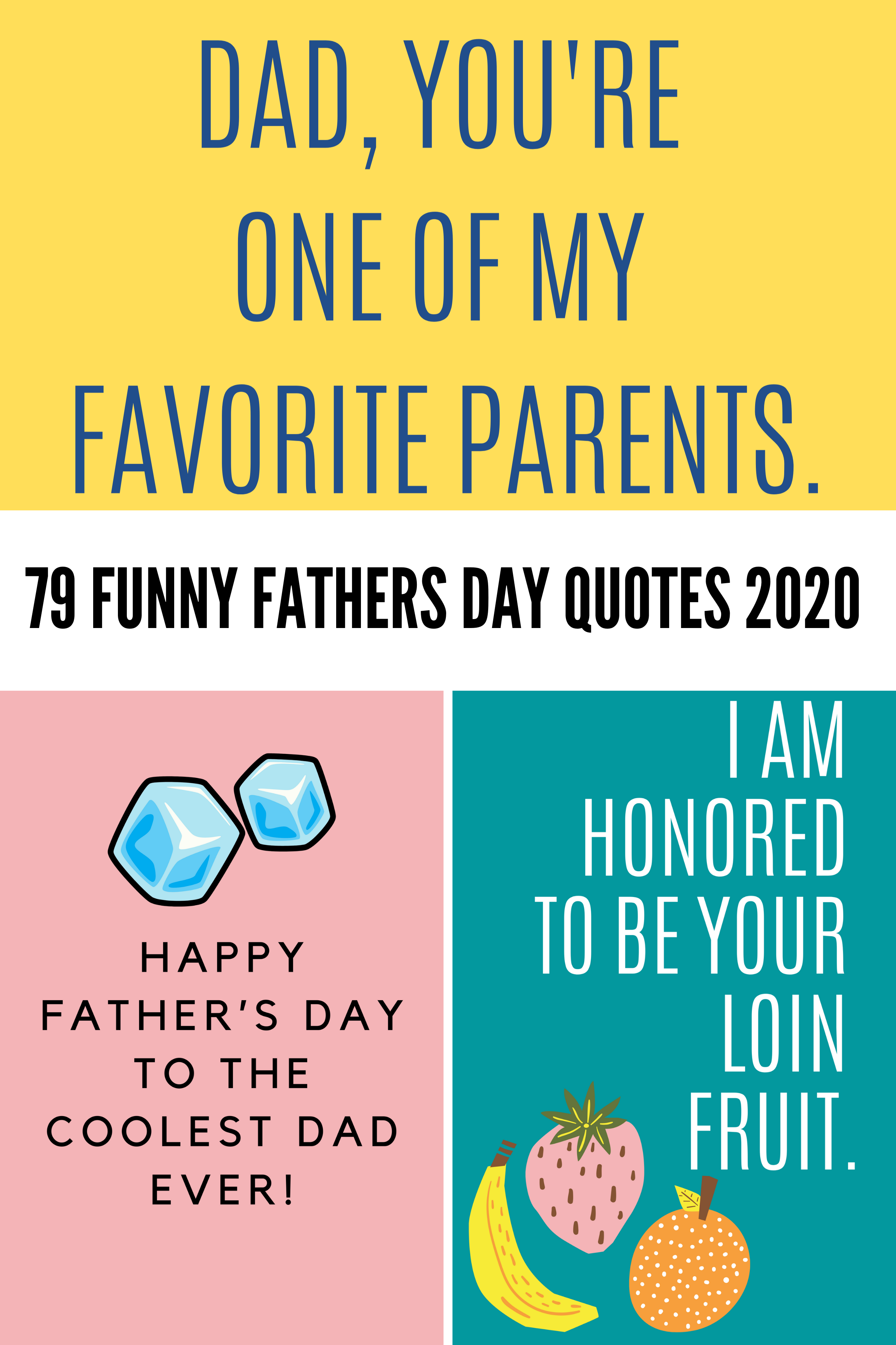 Funny Fathers Day Quotes 2020