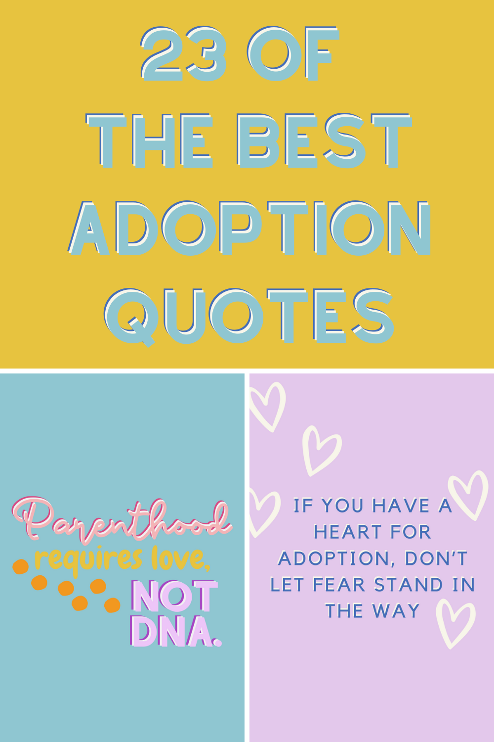 The Best Adoption Quotes