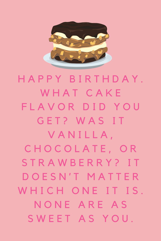 Happy Birthday Cake Quotes Funny