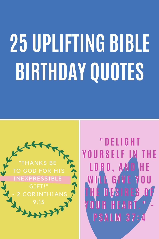 Bible Birthday Quotes