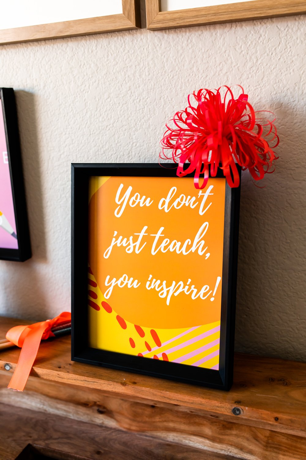 Teacher appreciation quotes gifts signs