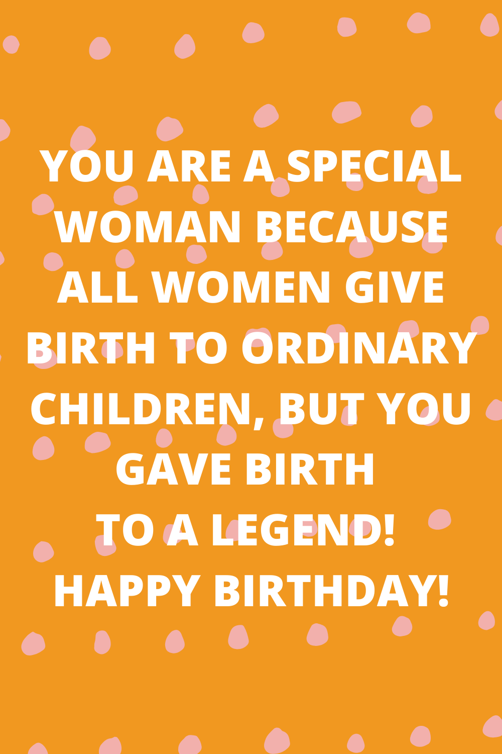 Birthday Quotes for Mom