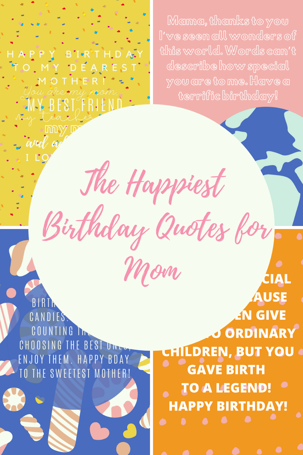 Happiest Birthday Quotes for Mom