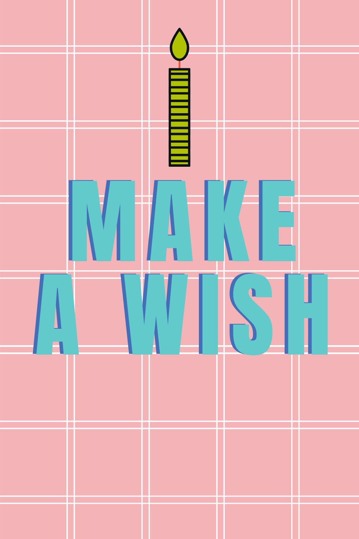 Celebrate Images Make A Wish Birthday Prints