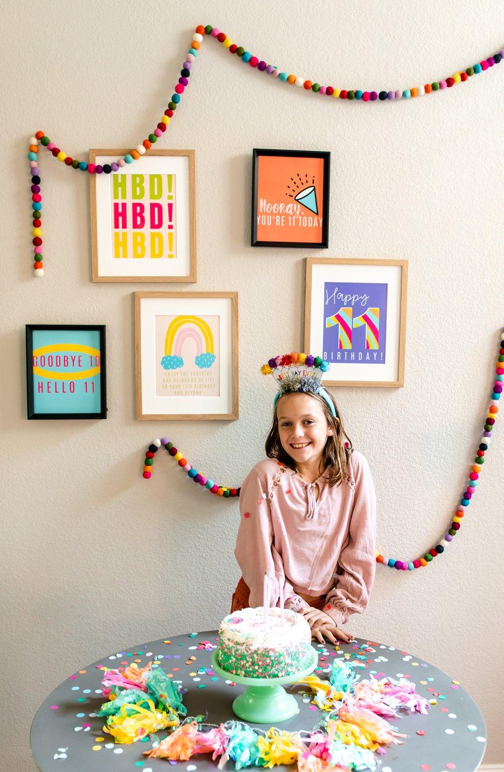 11 year old birthday quotes decor