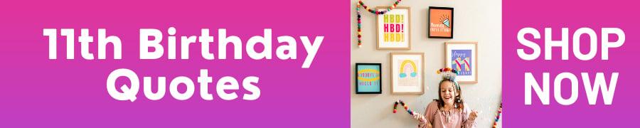 11th birthday prints download shop