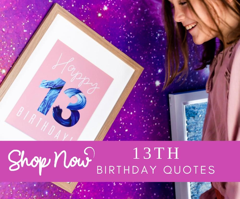 Turning teen birthday quotes shop