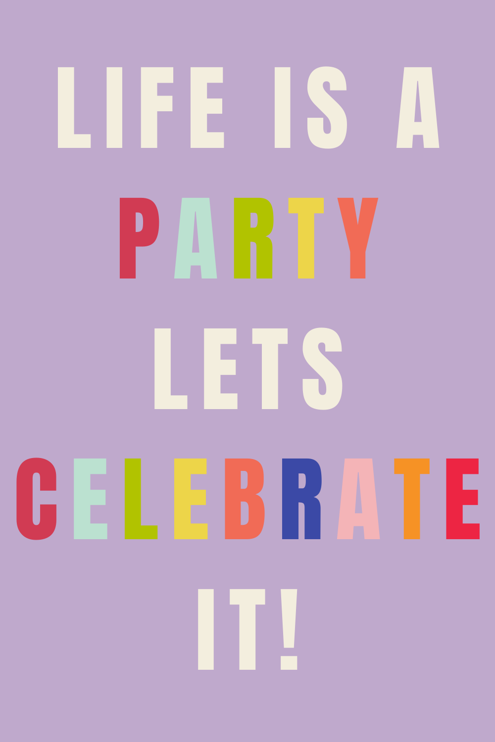 Celebrate Images Birthday Party Quotes
