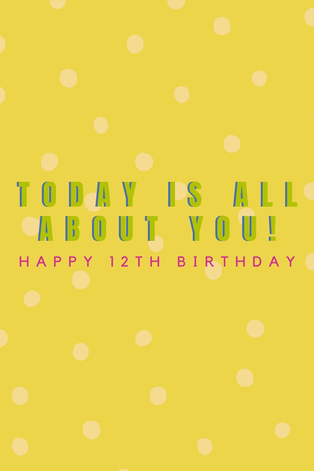 12 year old birthday quotes