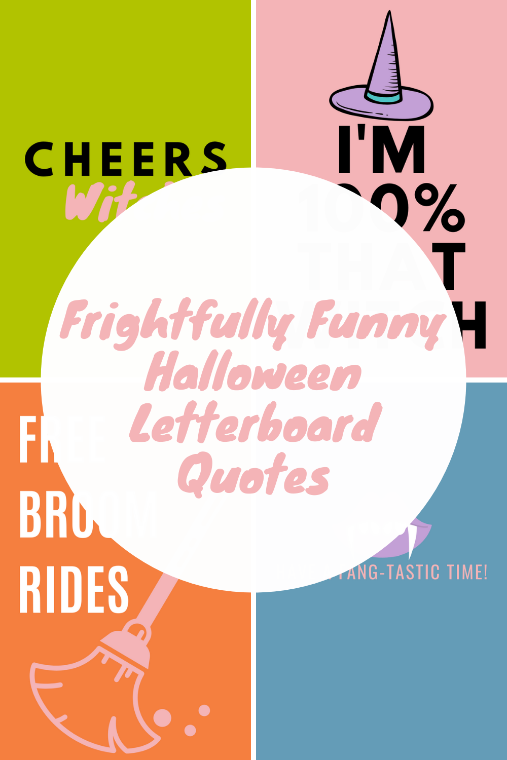 Halloween Letterboard Quotes