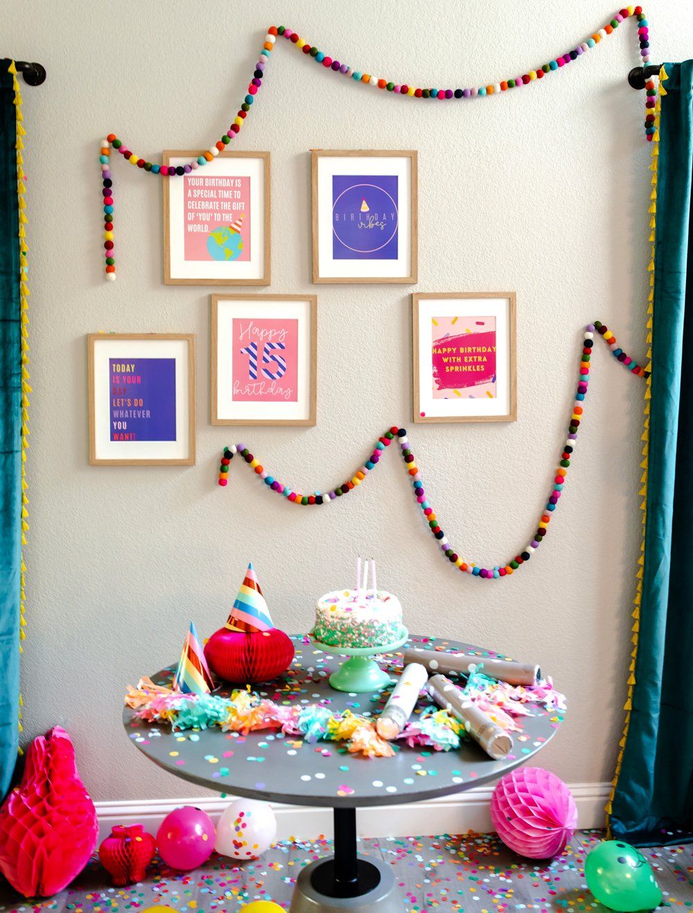 15th Birthday Party Ideas Decorating With Funny Birthday Quotes