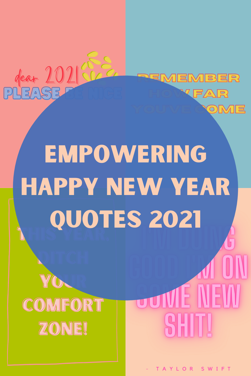 Empowering Happy New Year Quotes 2021