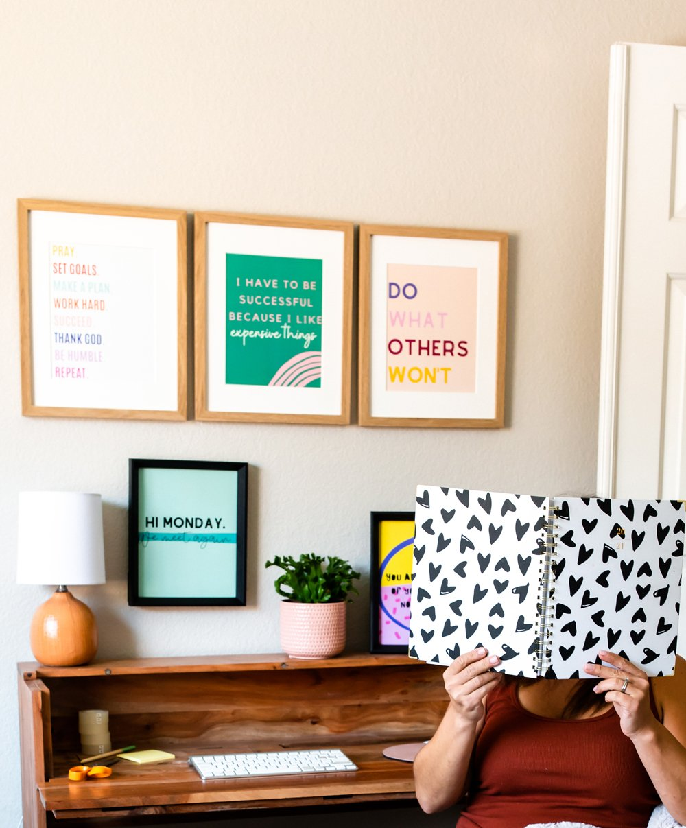 Girl Boss Home Office Ideas & Prints