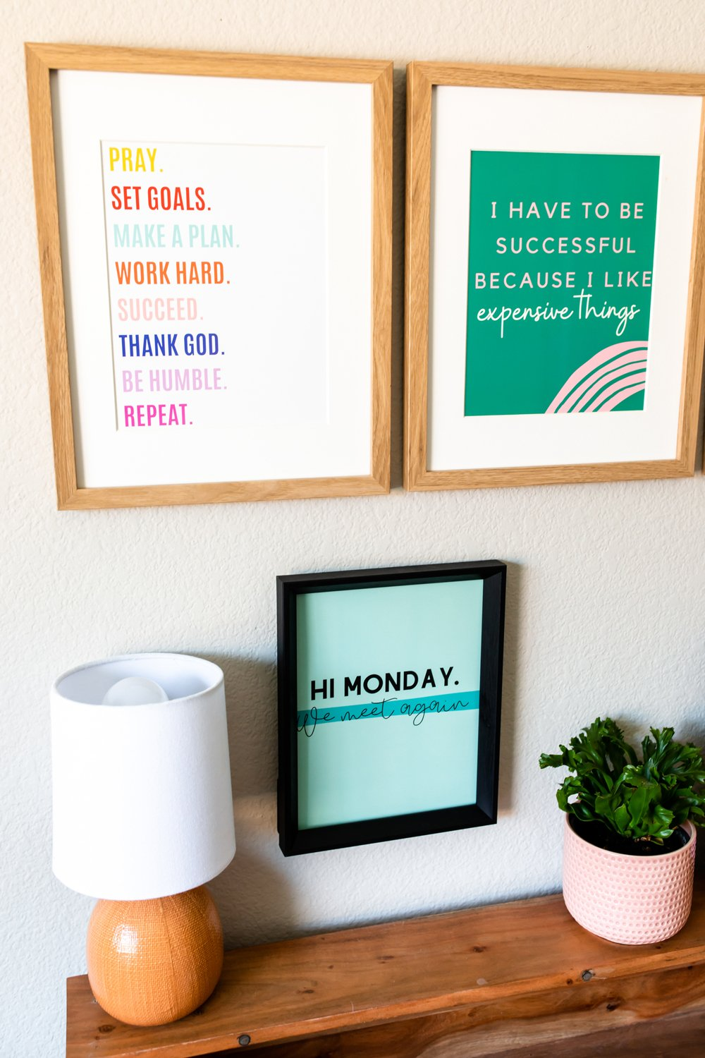 Girl Boss Quotes Prints for Home Office