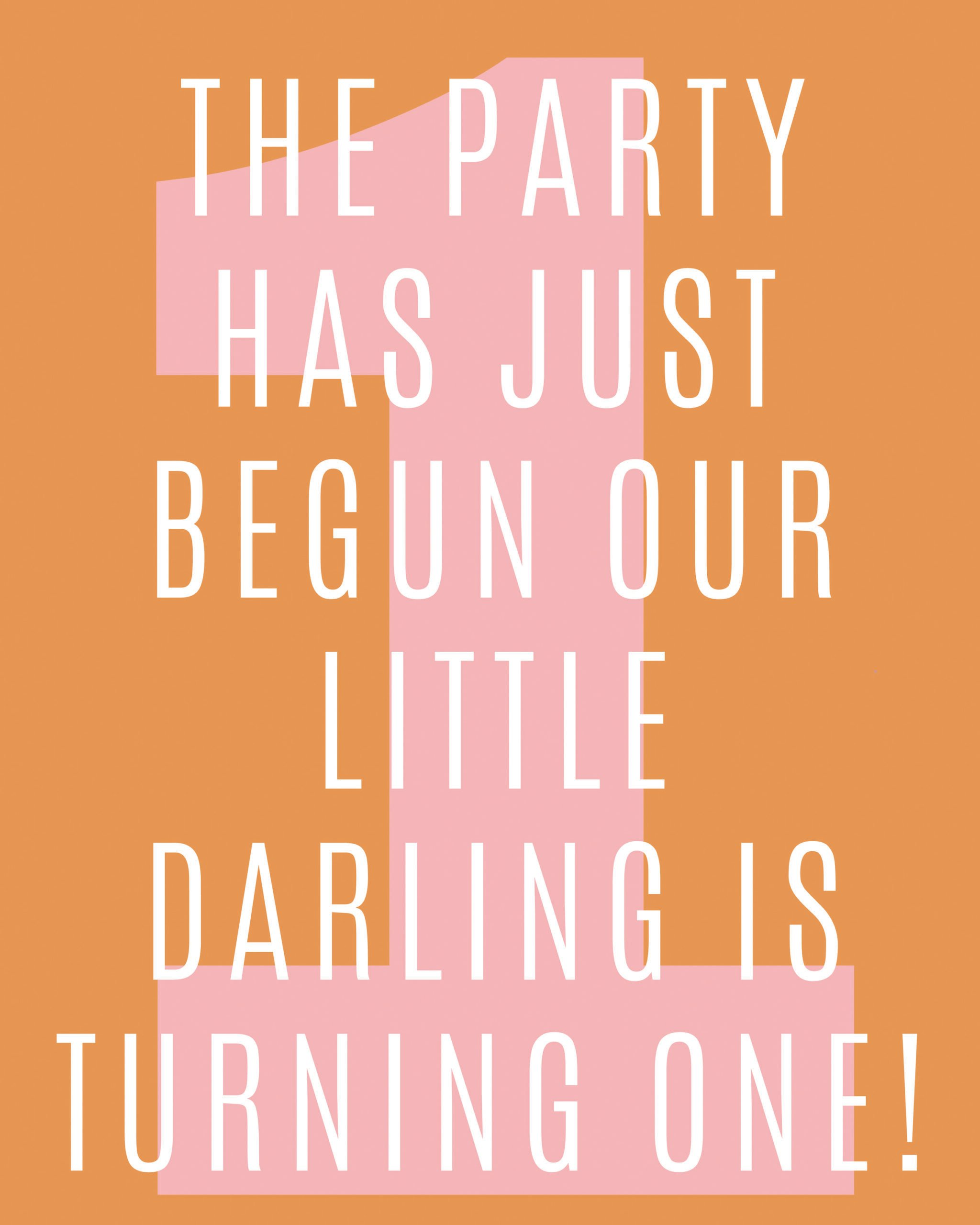 First Birthday Quotes