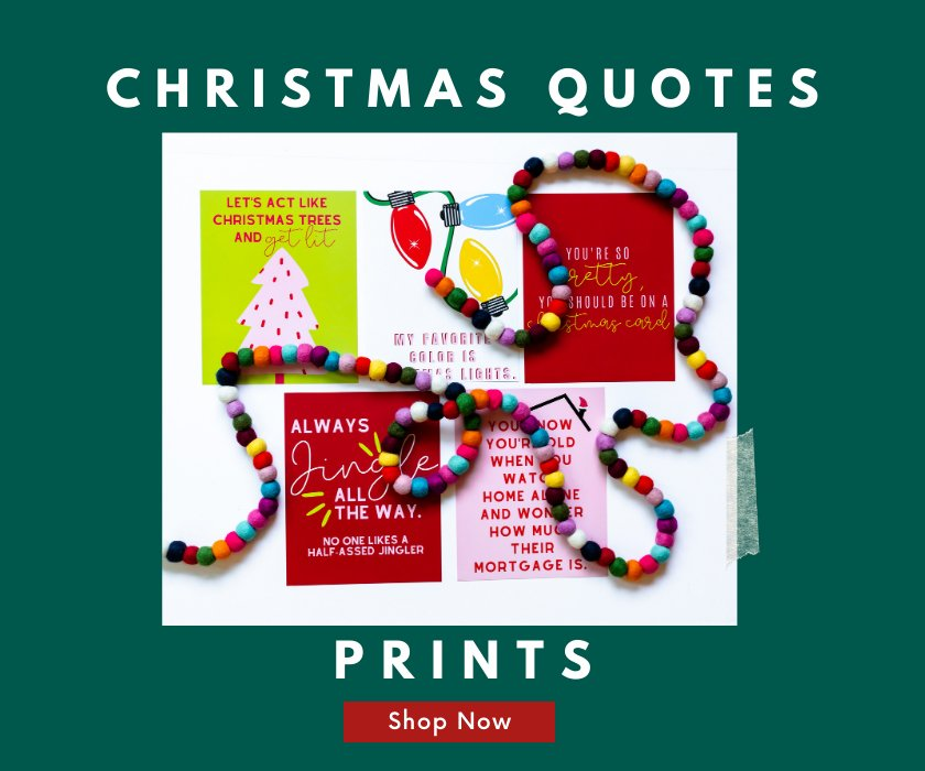 Christmas quotes shop