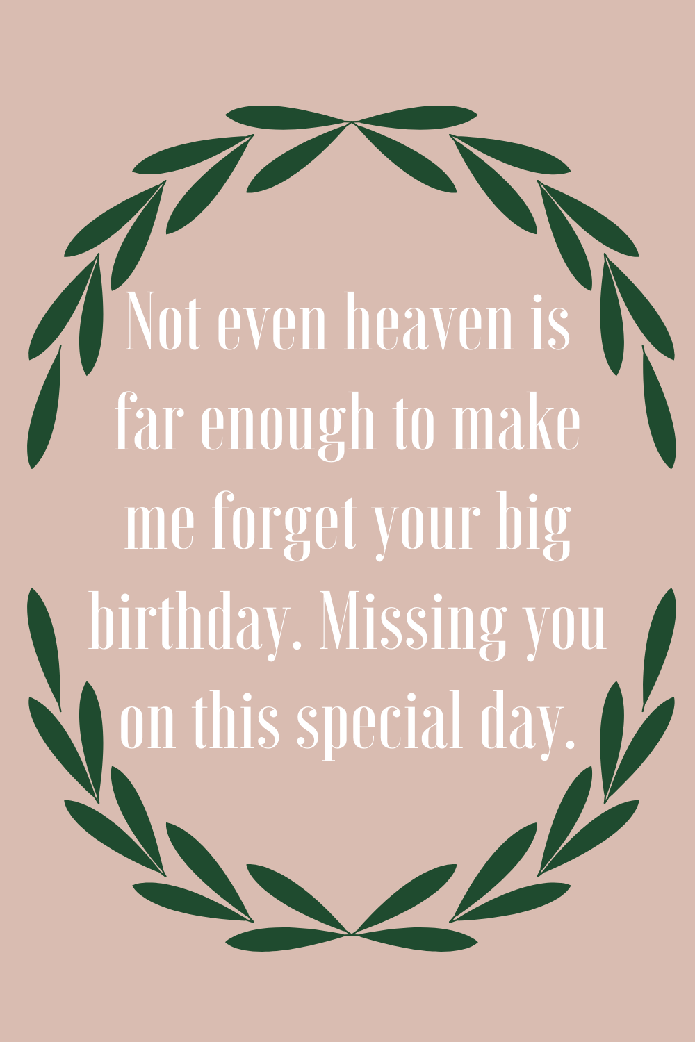 Birthday Quotes For Mom In Heaven