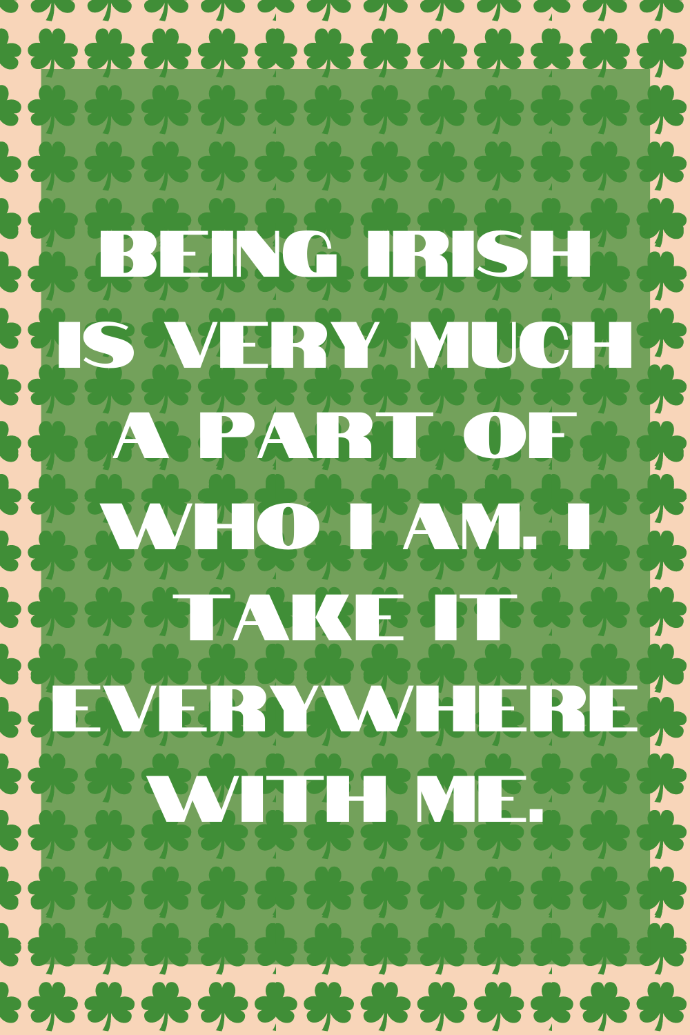 Funny Irish Quotes About Being Irish
