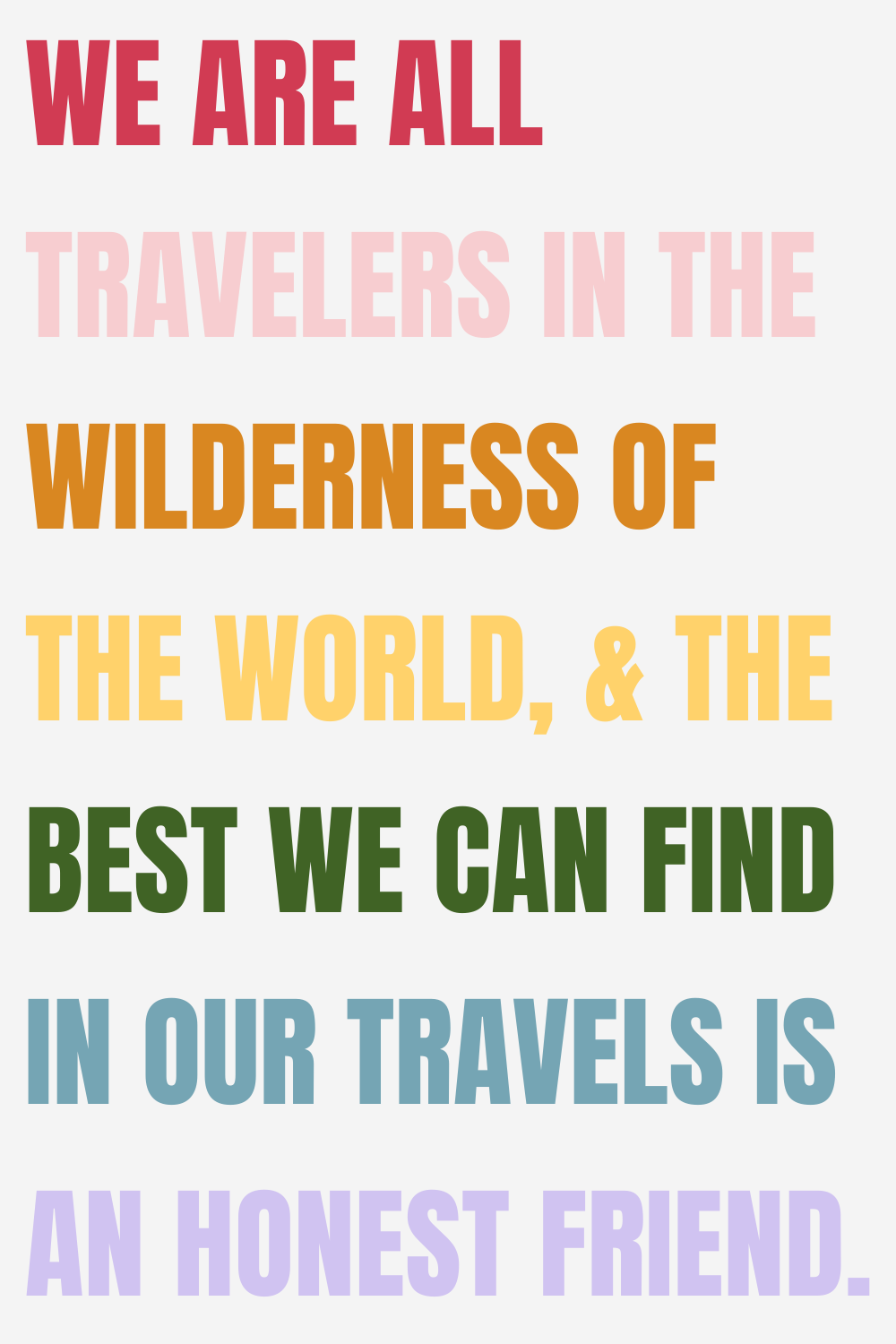 Fun Quotes About Traveling With BFF