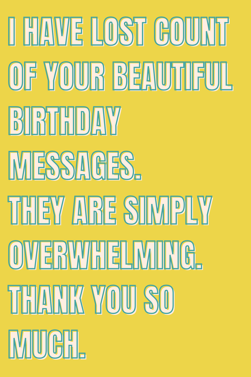 Birthday Messages Thanks Quotes