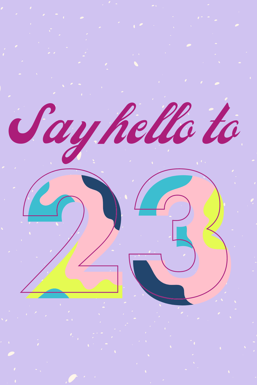 23rd Birthday Quotes Photos