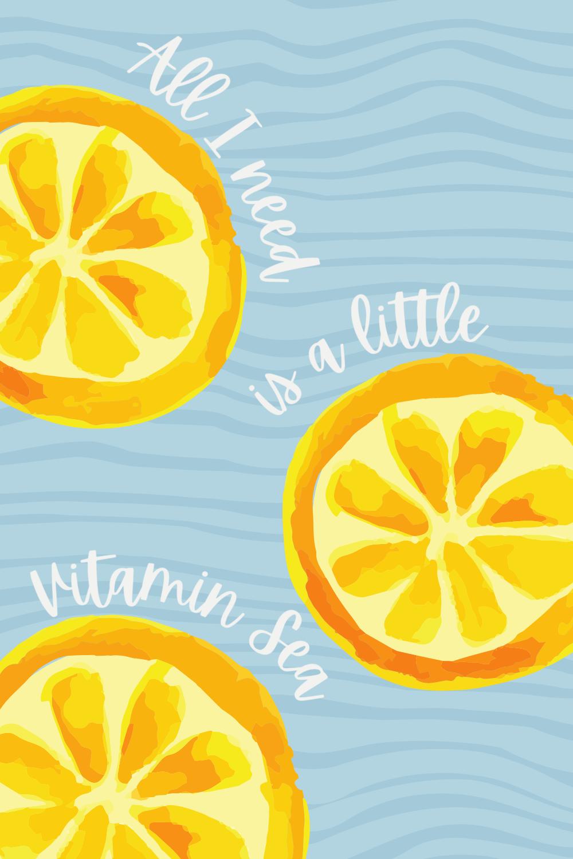 Vitamin Sea Quotes Spring Break Travel Quote Ideas