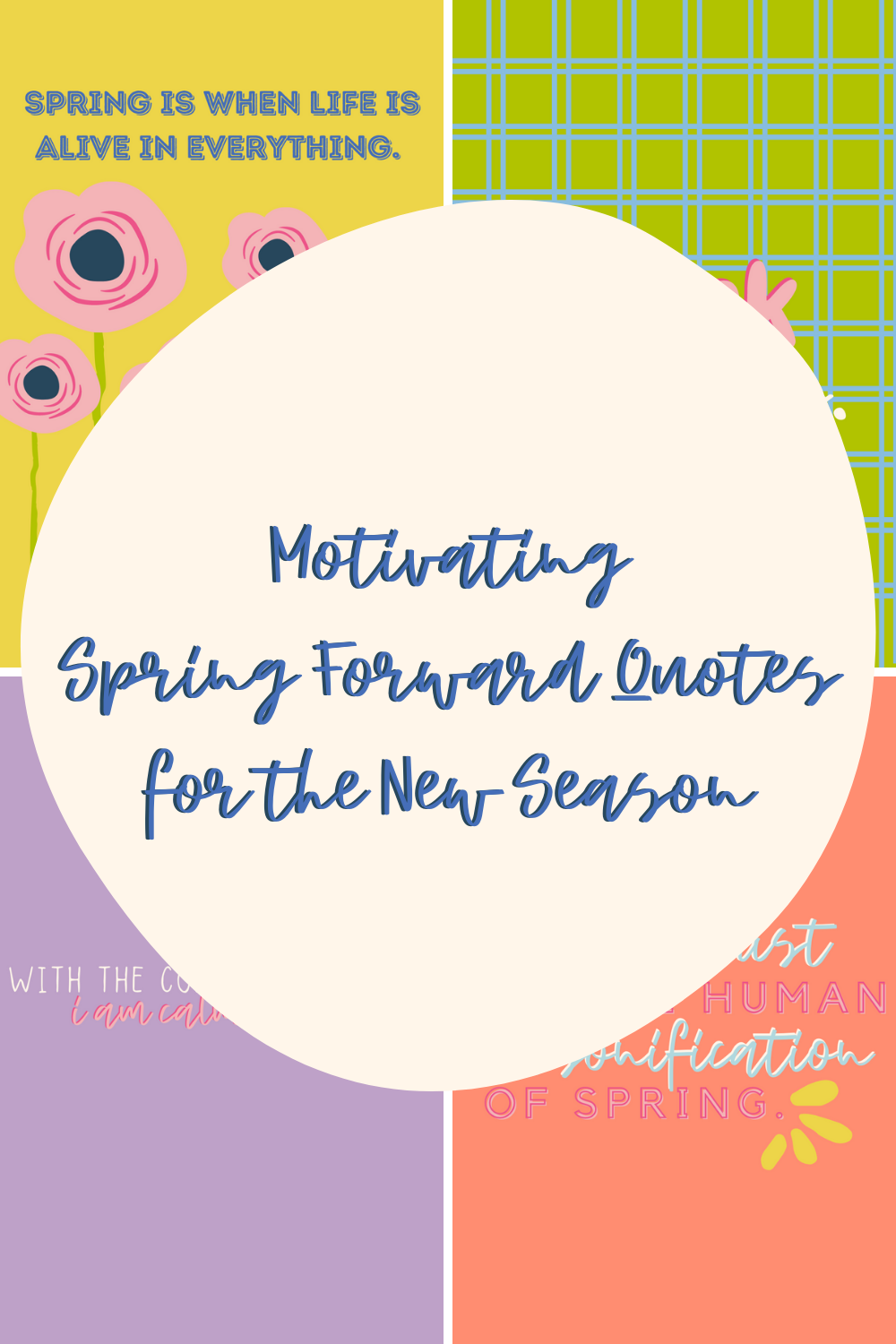 Spring Forward Quotes
