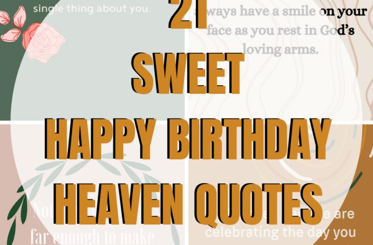 Happy Birthday in Heaven Quotes