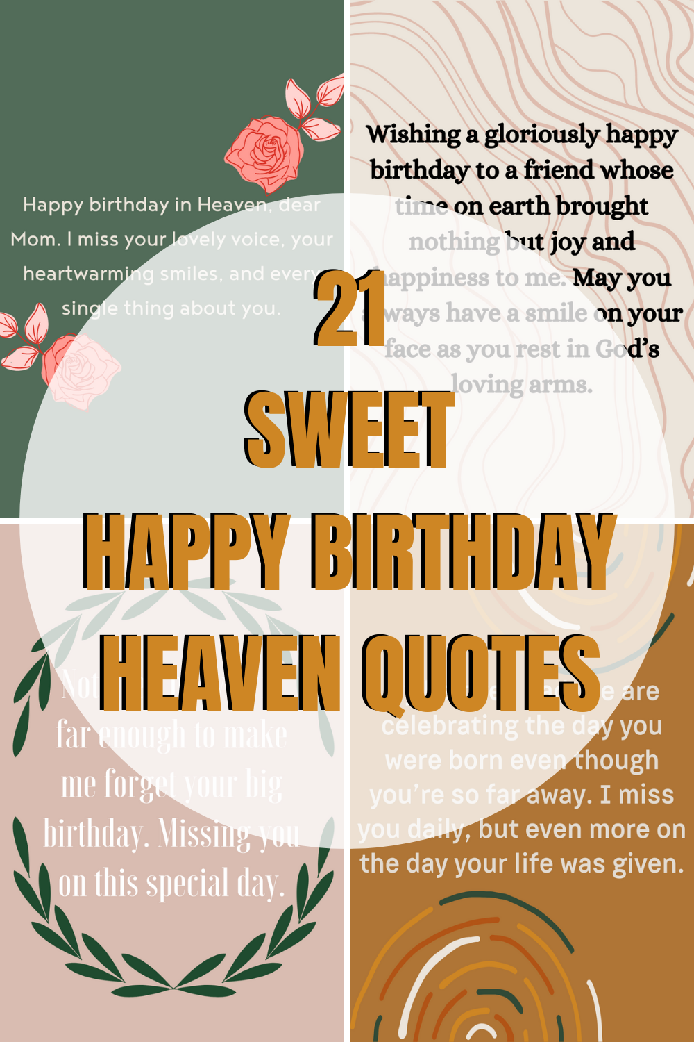 Happy Birthday in Heaven Quotes