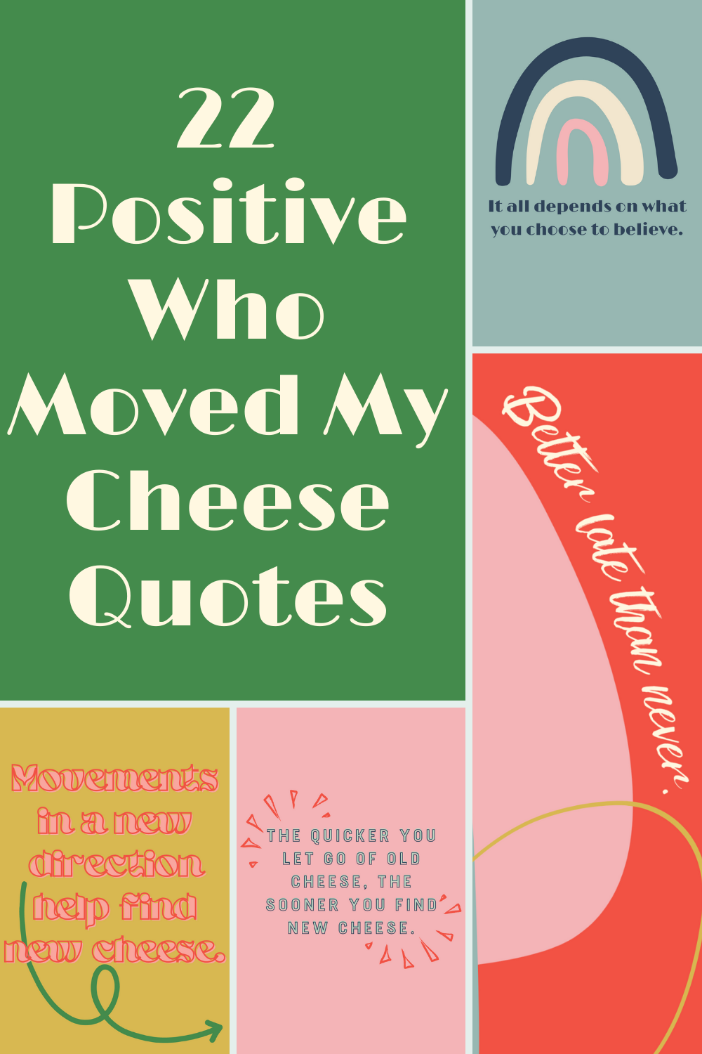 Who Moved My Cheese Quotes