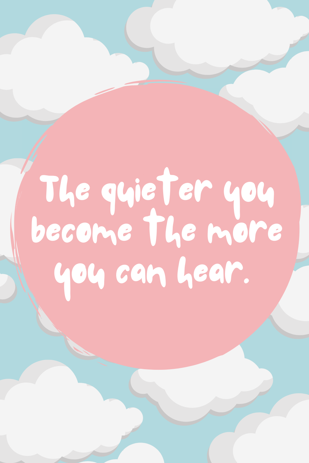 Quotes for Kids About Quietness