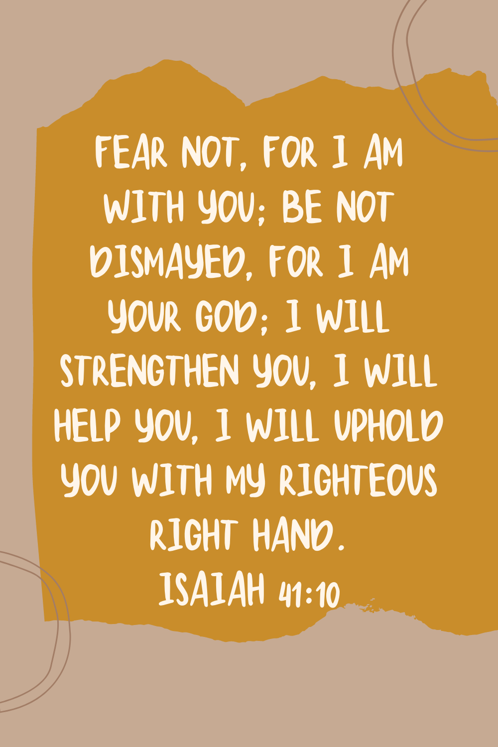 Fear Not Quotes From the Bible