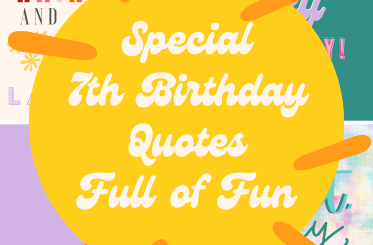 7th Birthday Quotes