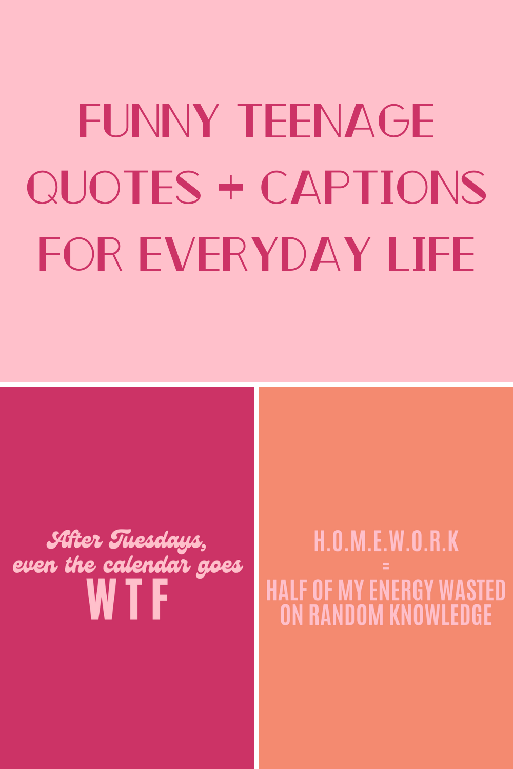 Funny Teenage Quotes