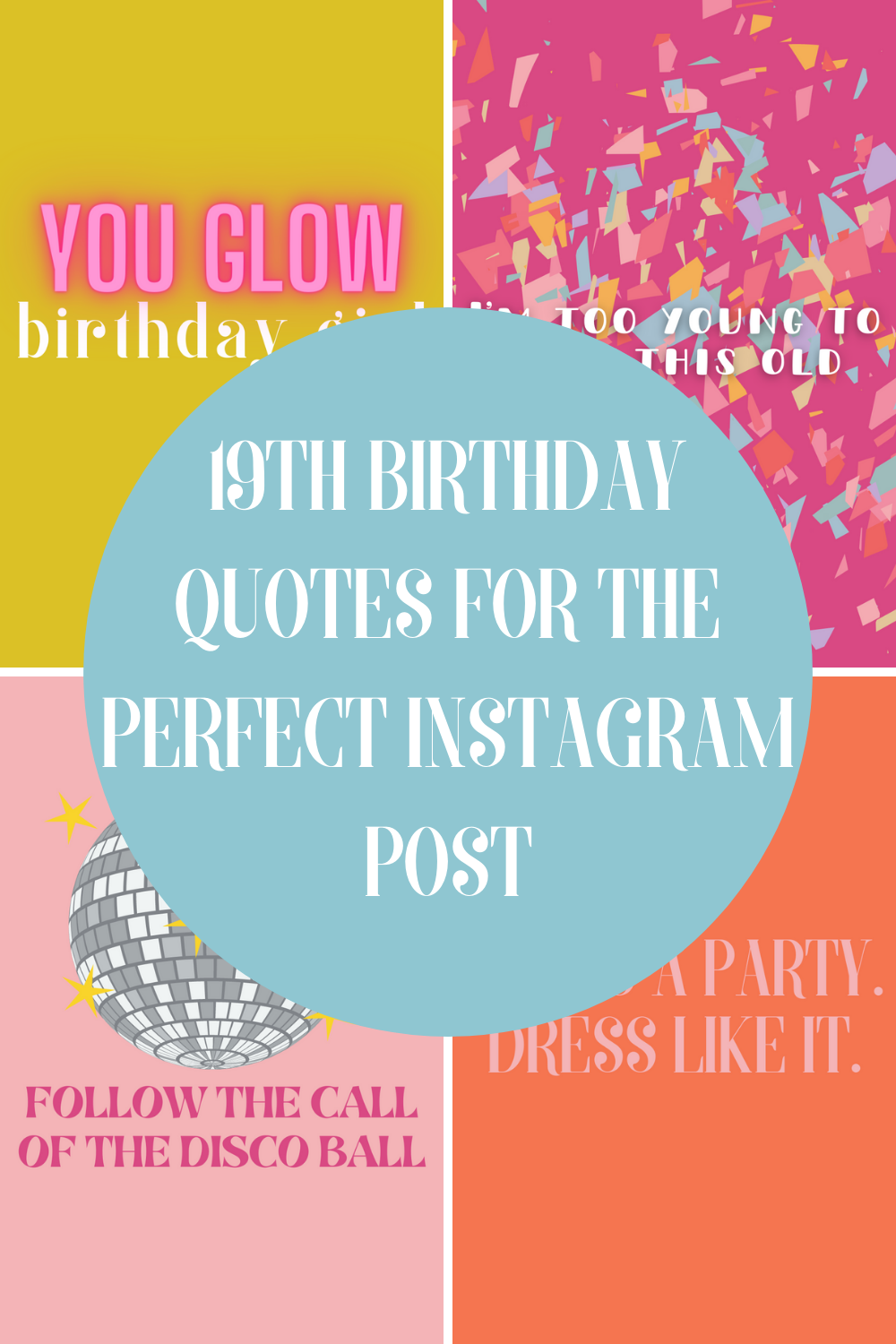 19th Birthday Quotes For Instagram