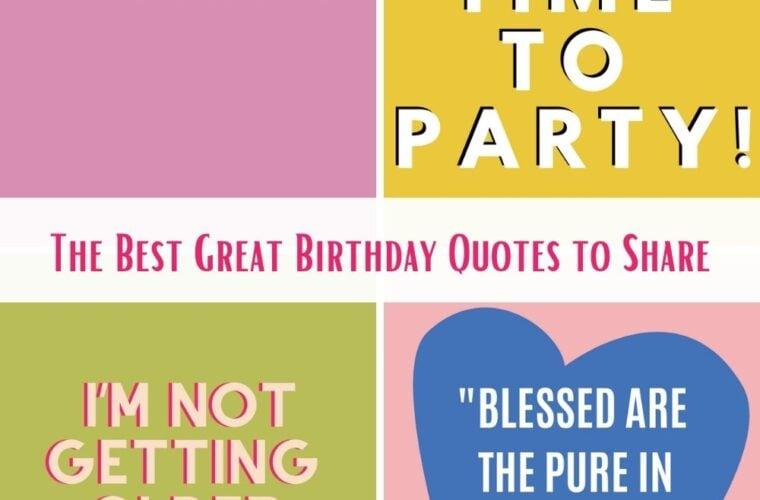 Best Birthday Quotes
