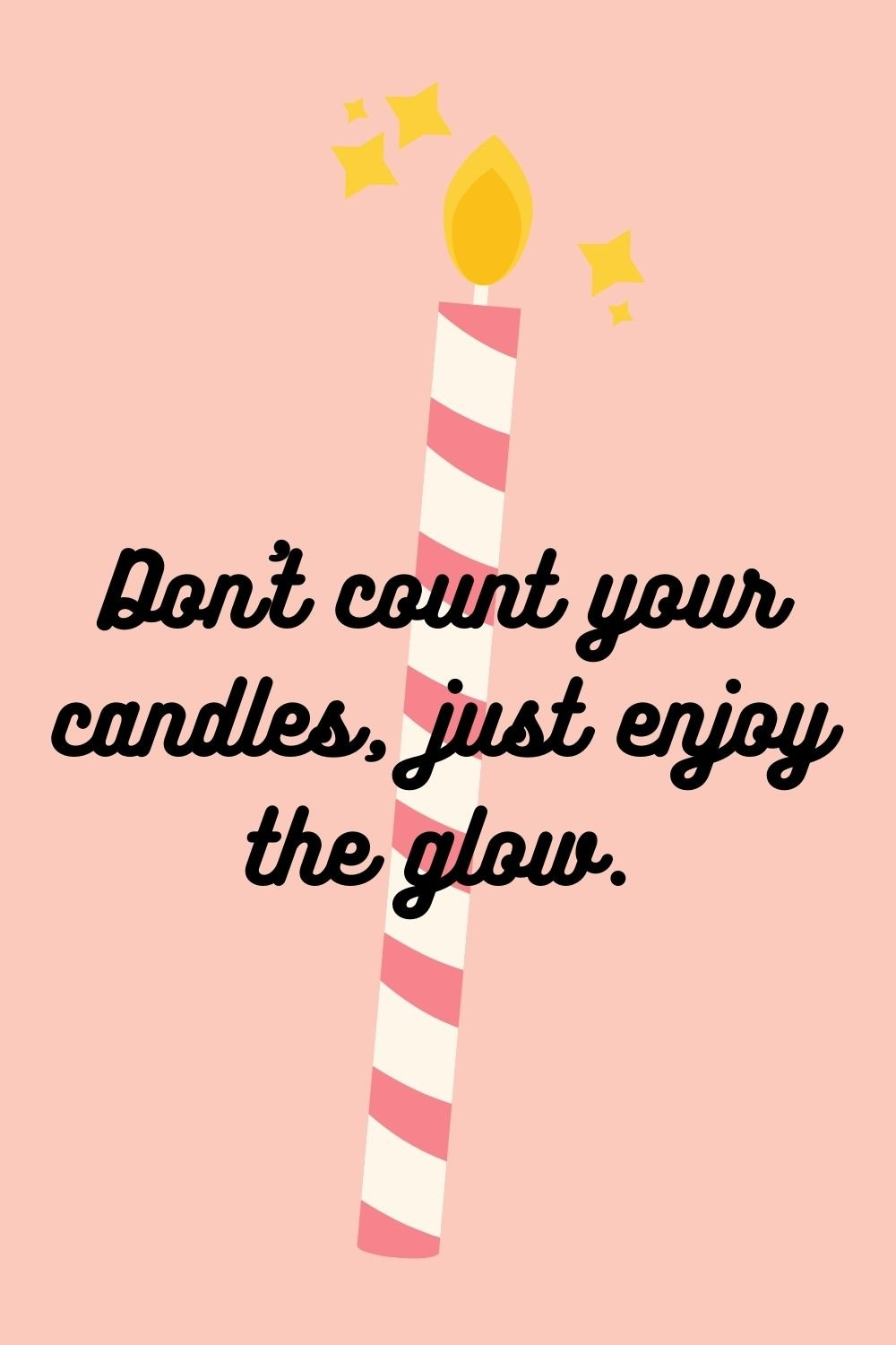 candle quotes for birthdays